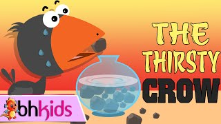 The Thirsty Crow - Story For Kids | Bedtime Stories Fairy Tale