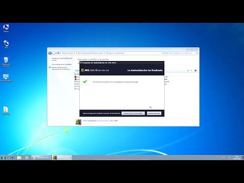 Desinstalar AVG Antivirus o Cualquier Software en Windows 7