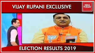 CM Of Gujarat Vijay Rupani Speaks To India Today On BJP's Victory | Results 2019
