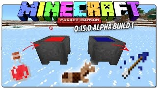 MINECRAFT POCKET EDITION 0.15.0 ALPHA BUILD 1 - MÁS CAMBIOS Y SECRETOS EN ESPAÑOL | MCPE
