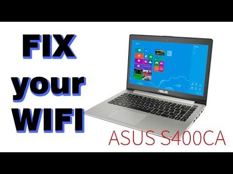 Tutorial: fix WIFI problems on Asus S400CA (intermittent and poor connection quality)