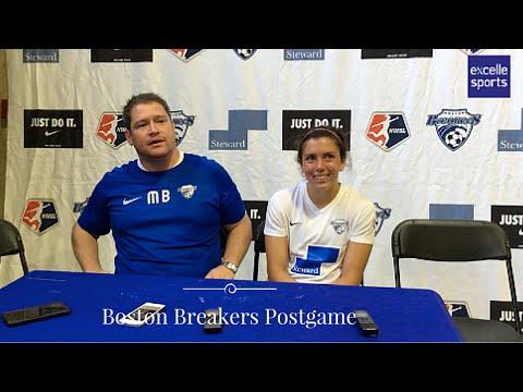 Boston Breakers Post Game