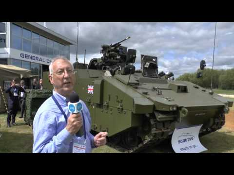 Defence Vehicle Dynamics 2014 - General Dynamics UK debuts new Scout Specialist Vehicle (Scout SV) P