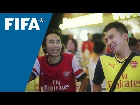 English Premier League inspiring Laotians
