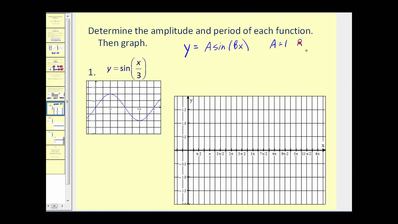 how to find the smallest period of a sine function