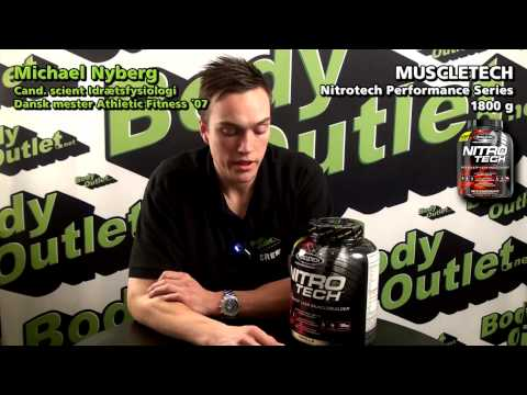 Bodyoutlet anmelder NITRO TECH fra Muscletech Performance Series