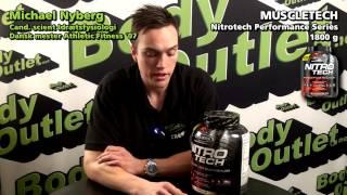 Bodyoutlet anmelder NITRO TECH fra Muscletech Performance Series