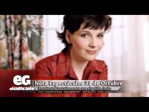 Comprometida Binoche con Pátzcuaro @elgolfoveracruz #Espectáculos