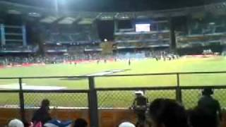 Mumbai Indians v Deccan Chargers @ The Wankhede Stadium Electro Dance Tune