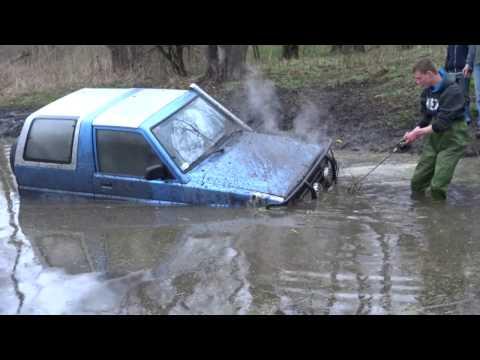 Feroza 4x4 Oborniki mokry wypad za miasto z mała wtopa (marzec...