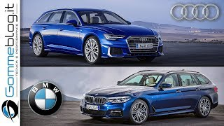 2019 Audi A6 avant vs 2018 BMW 5 Series Touring - INTERIOR EXTERIOR