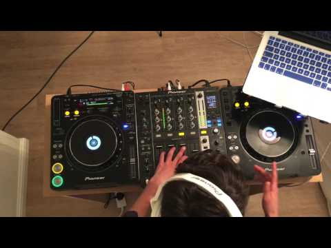 14 year old DJ Erfone smashes it with his new bedroom mini mix!