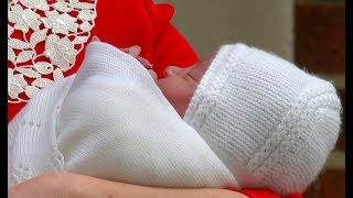 East Midlands business makes shawl for Royal Baby | ITV News