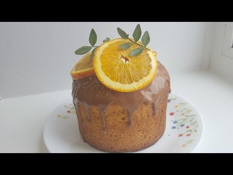 Творожный кулич с ароматом апельсина🍊Easter cake with orange juice🍊