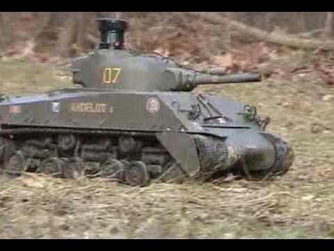 Tamiya Sherman Full Option RC Tank
