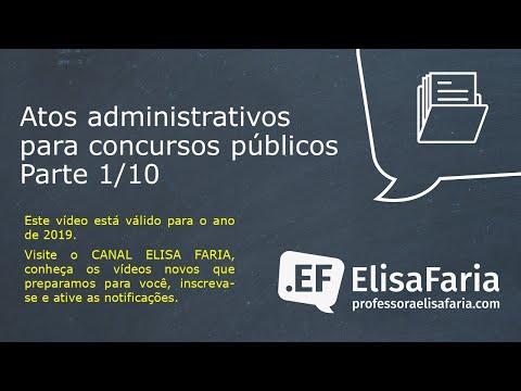 Aula 059 - Atos Administrativos Parte 1