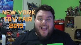 New York Toy Fair 2019 - Marvel Legends, Star Wars Black Series, DC Collectibles & More!!!