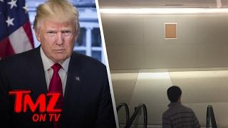 Donald Trump's Official Photo Is MIA...At LAX | TMZ TV