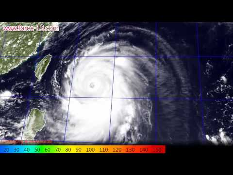 Satellite Imagery of Typhoon Neoguri (July 1-11, 2014)