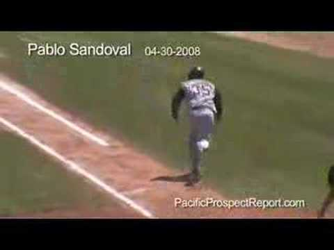 San Francisco C Prospect Pablo Sandoval Video