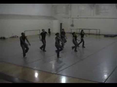 Hip Hop II UNM Karen Price Warm-Up Choreography.