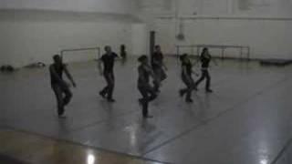 Hip Hop II UNM Karen Price Warm-Up Choreography.
