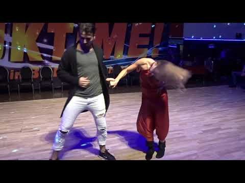ZoukTime2018: with Lucia & Zandro in an improvised performance ~ Zouk Soul