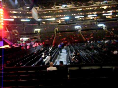 Staples Center Seat Youtube