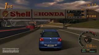 Gran Turismo 3 A-Spec PS2 | Laguna Seca Raceway | Toyota Yaris RS 1.5 '00