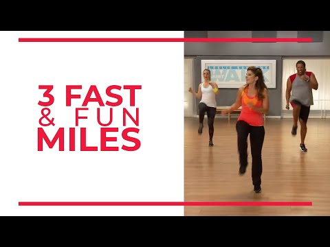 3 Fast & Fun Miles - Mile 3 | Walk at Home Workout MP3