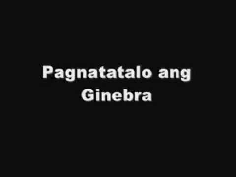 Gary Granada - Pagnatatalo Ang Ginebra video