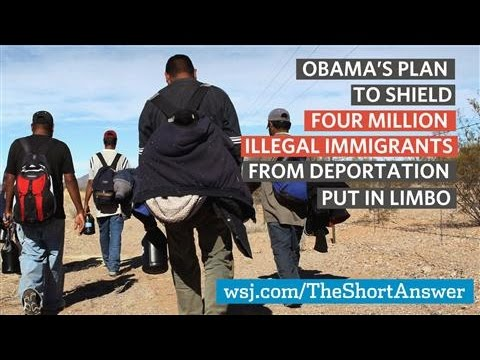 Immigration Ruling Puts Obama's Plan in Limbo