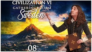 Civilization 6 - Gathering Storm Pre-Release as Sweden - Episode 8 ...Saving Stockholm...