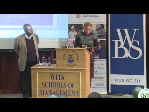 WBS-Minister Lindiwe Zulu - Advancing SMME development