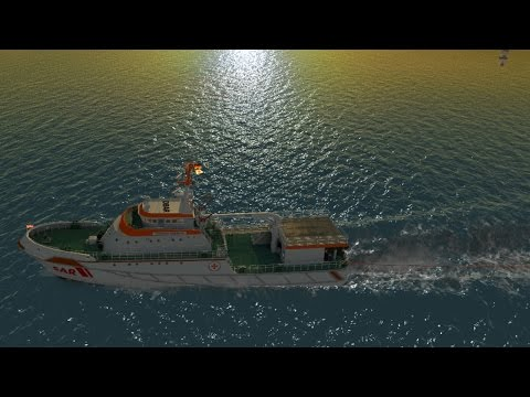 Ship Simulator: Maritime Search & Rescue Pt.4 We're done with North Sea Missions!!
