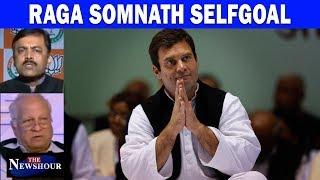 Rahul Non-Hindu: Fact Or Faux Pas? | The Newshour Debate (29th Nov)