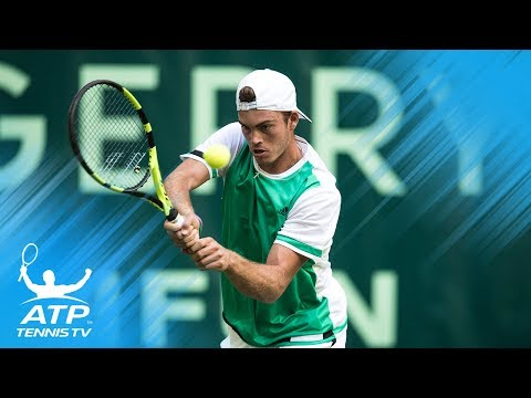 Dominic Thiem and Max Marterer incredible rally! | Gerry Weber Open Halle 2017