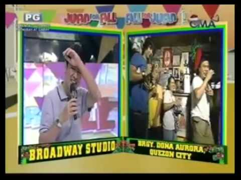 Jose Manalo doing a Willie Revillame impersonation - December 17, 2011