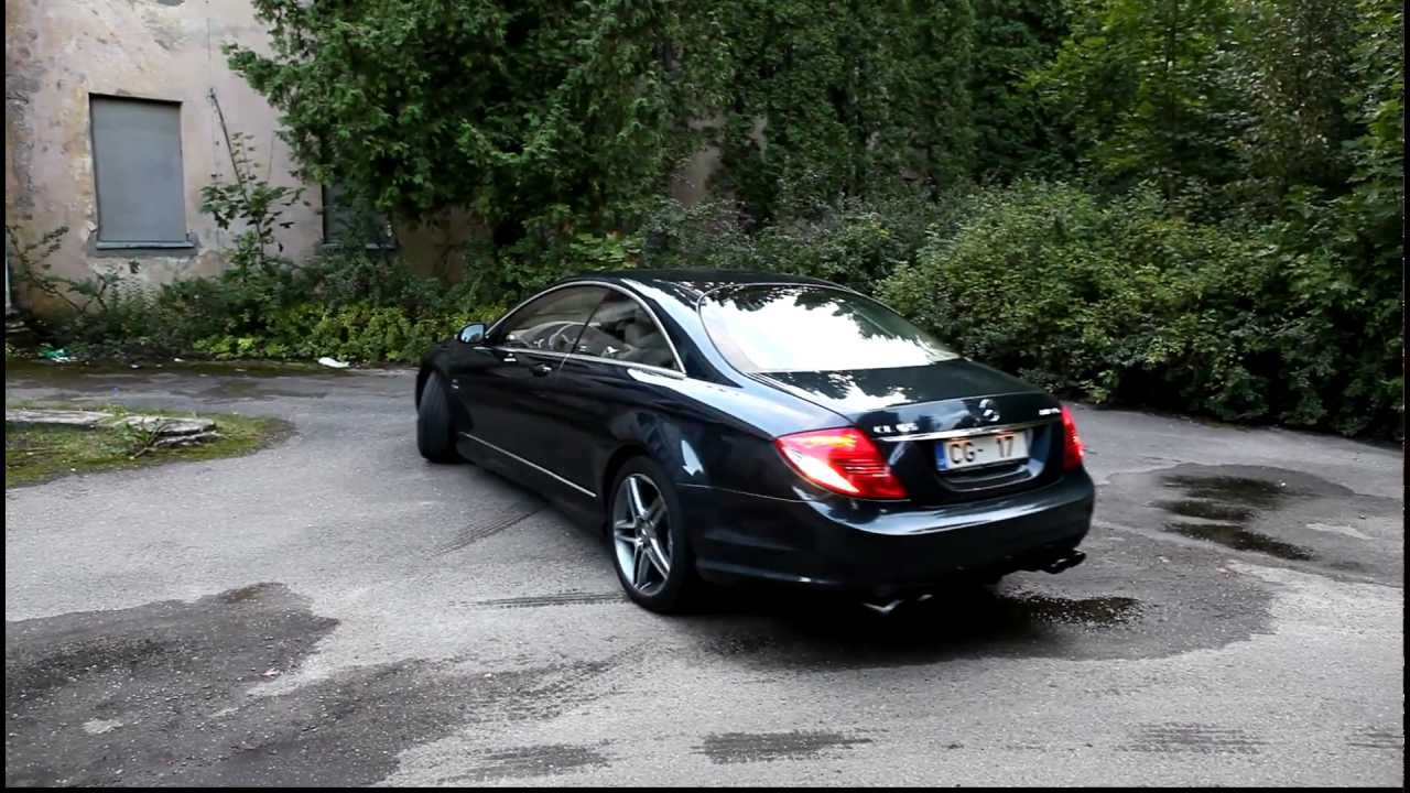 Mercedes Benz CL65AMG KLEEMANN 6.0 W12 BiTurbo - YouTube