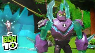 Ben 10 Toys | Diamondhead vs Hex | Cartoon Network