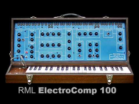 Antique Synthesizer 1970-1979