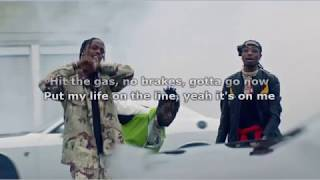 Lil Uzi Vert - Go Off ft Quavo, Travis Scott (Instrumental) Karaoke