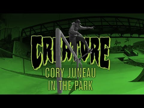 In The Park: Cory Juneau for Creature Skateboards