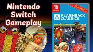 Nintendo Switch, AtGames Atari Flashback Classics, 150 GAMES, Gameplay