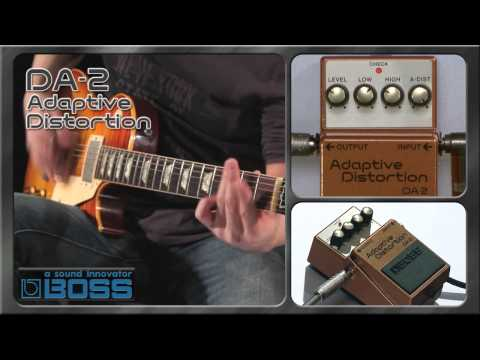 DA-2 Adaptive Distortion [BOSS Sound Check]