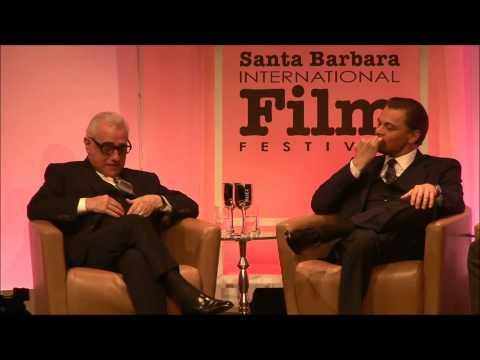 Leonardo DiCaprio And Martin Scorsese 2014 SBIFF   Cinema Vanguard
