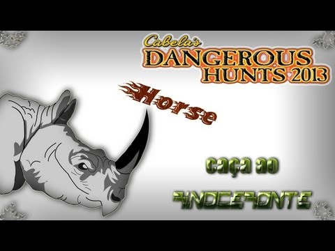 #2 cabela\'s dangerous hunts 2013 hienas rinoceronte