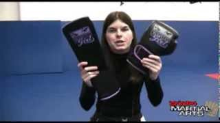 Bad Girl Shin Guards Review by Shop4 Martial Arts
