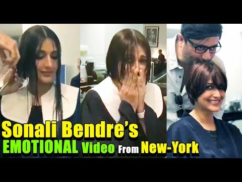 Sonali Bendre BREAKS DOWN During HAIR CUT For Her CANCER Treatment | High Grade Cancer