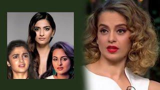 Sonakshi, Sonam & Alia Reacts To Nepotism Remarks | Bollywood News